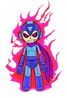 Evil MegaMan by kanefinger1939