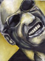 Ray Charles by zoops-illustrations