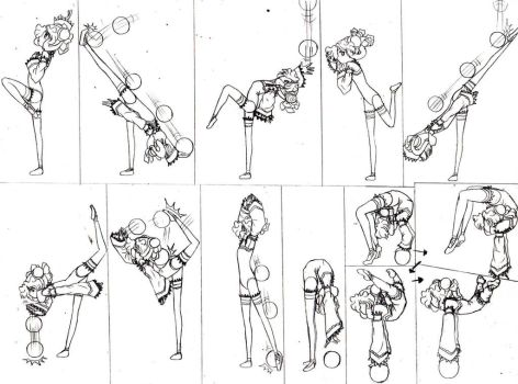 Ball Routine 3 by lalunafelis