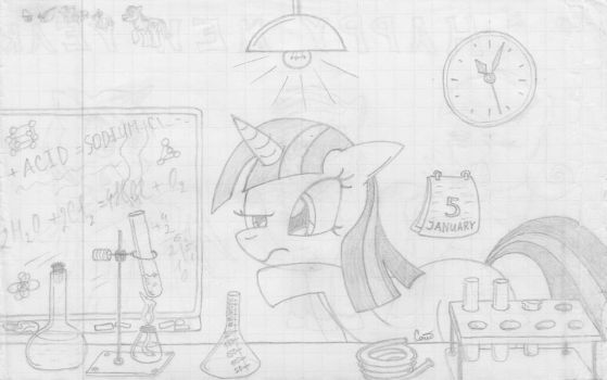 MFOEF - Twilight And Her Experiment by Imaflashdemon