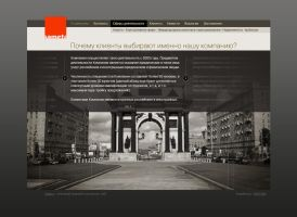 Sameta web page design by horlet