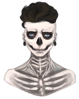 Skeleton (premade) by IMVUWaltz