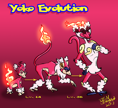Monferno Evolution by JentheSellout
