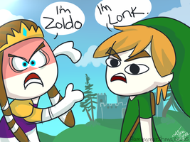 Lonk and Zoldo by flamingmarshmallows