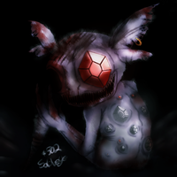 No.302-Sableye by BerriesSparrowMouse