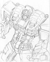 The War Within Optimus Prime by kaladam