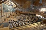 Scottish Parliament Chamber by bobswin