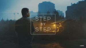 Golden blue / step by step gif by maxasabin