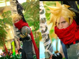 Kingdom Hearts: Cloud Strife by gamefan23