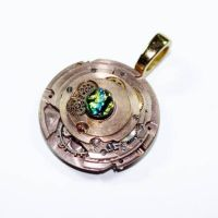 Steampunk IRONMAN Pendant 3rd by Create-A-Pendant