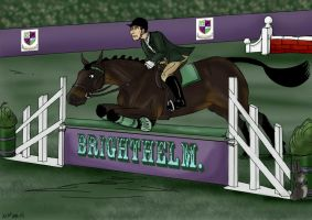 Brighthelm showjumping a by Louvan