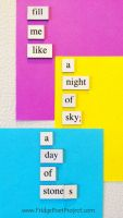 The Daily Magnet #45 by FridgePoetProject