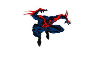 Spidey 2099 by BlackToe