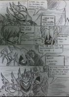 Fade Comic Page 1 by Agyron