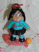 First Vanellope by disneykittyart