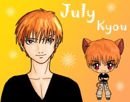 July-- Kyou by IcyPanther1