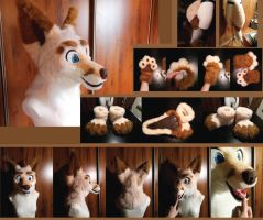 CUTE BRAND NEW FOX PARTIAL *SOLD* by FoxTailCosplay