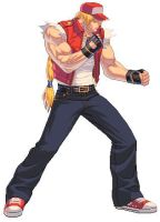 Terry Bogard Hi-Res Sprite by Marsonite