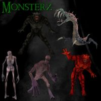 Monsterz by zememz