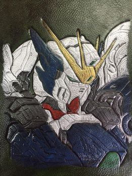 Wing Gundam Zero Custom portrait by Lost-Ragnarok