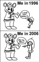 Chuck E Cheese used to be cool by chiefhoohaha