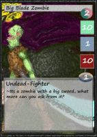 Flavor text zombie by ChoasisShinigami