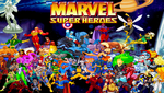 Marvel Super Heroes poster by Riklaionel