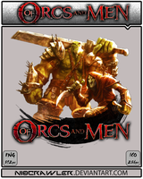 Of Orcs And men Icon by Ni8crawler