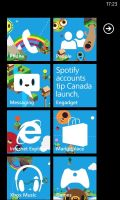 My Windows Phone Start Screen by MetroUI