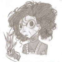 edward scissorhands by eggshellbrownies