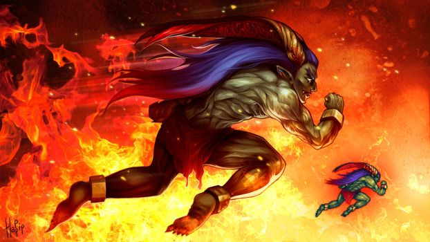 Final Fantasy Ifrit by happip