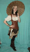 Steampunk Gypsy Stock 5 by KristabellaDC3