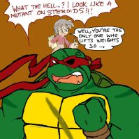Future Raph's objection by Tigerfog