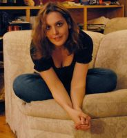 Heather Sitting Poses 01 by LinzStock