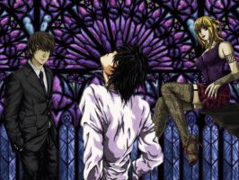 Death Note Trio by Ka7