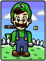 Luigi? by silvermonochrome