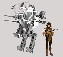 WIP - Mechanized Infantry Heavy Weapons Platform by freiheitskampfer