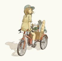 tricycle by maronono