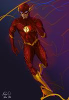 The Flash by kiraoka