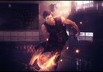 Aomine by Sylinchen