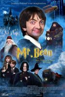 Mr Bean/ Harry Potter by NeonNix