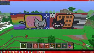 Nyan Cat VS Tac Nayn by monkey100132