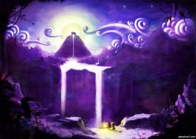 SARF Temple Illustration by abigbat
