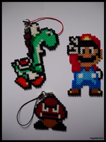 Mini Hama Mario Kit by Dark-Unicor