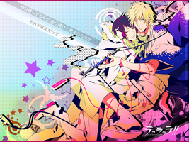 My Shizaya Desktop BG by lotras