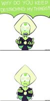 (Steven Universe) Peridots feelings by HikumiRin