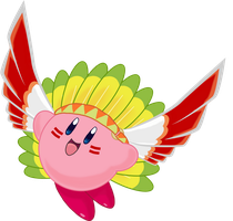 Collab Entry - Wing Kirby by mandy-kun