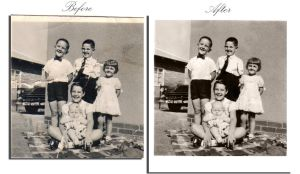 Some old photo restoration by AnatneM-Studios