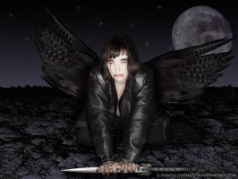 The fallen one... by slipandslidesuicide