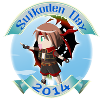 Logo Suikoden Day 2014 (Simple version) by ChiisaYanagi